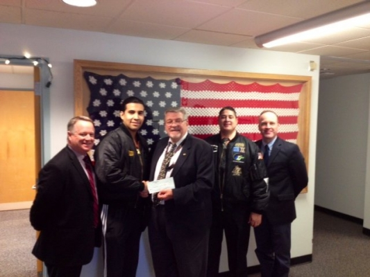 SEMPER4VETERANS $1,000 CHRISTMAS DONATION TO NORTHPORT VA HOSPITAL