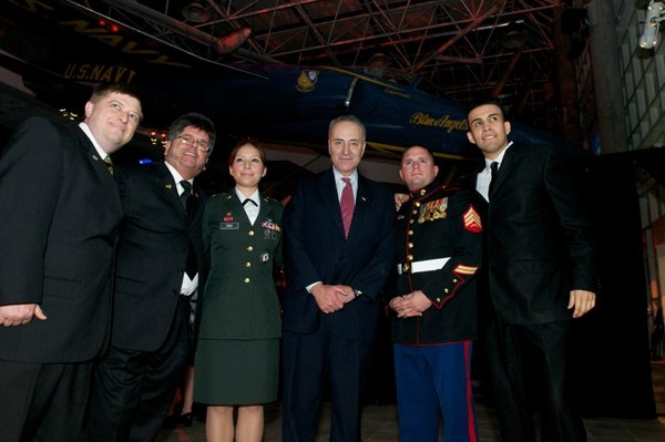 Semper4Veterans attending a Military Gala at the Cradle of Aviation
