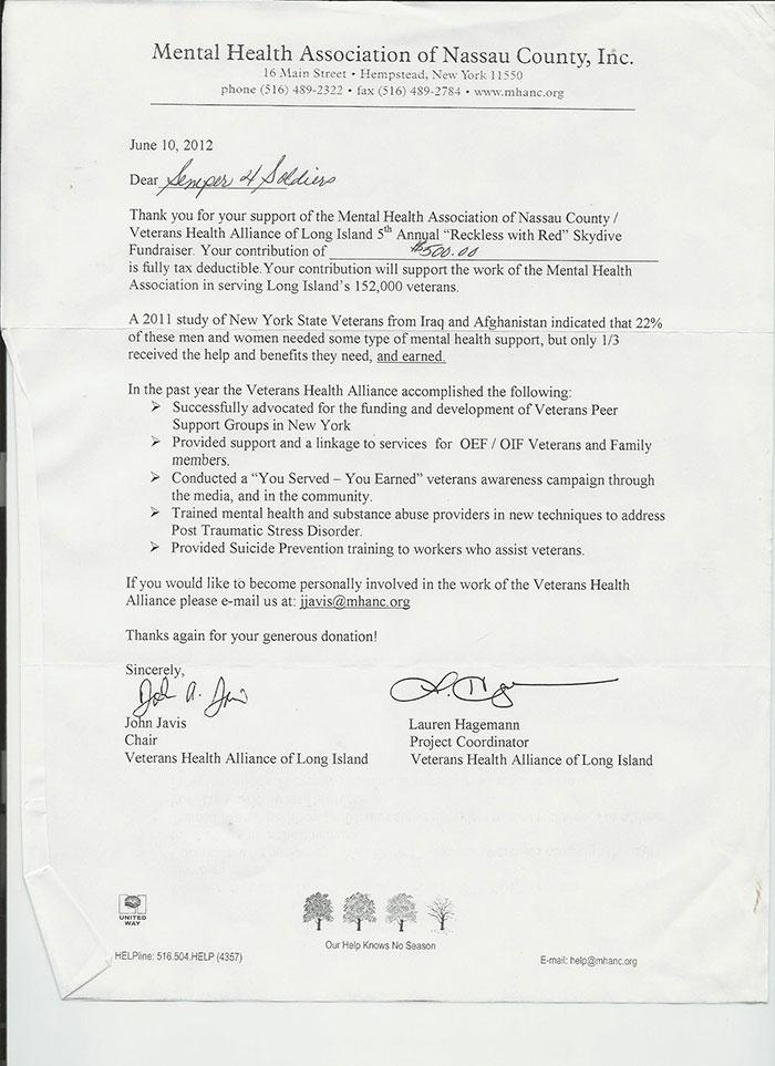 2012 Letter