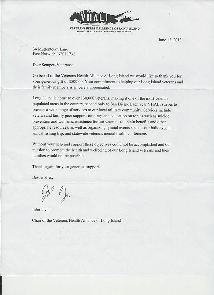 2013 Letter