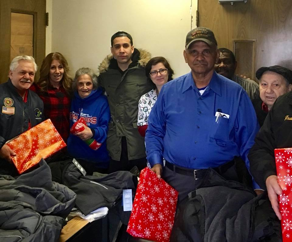 donating turkeys, Groceries, jackets, and boots for Veterans at the Veterans Service Agency