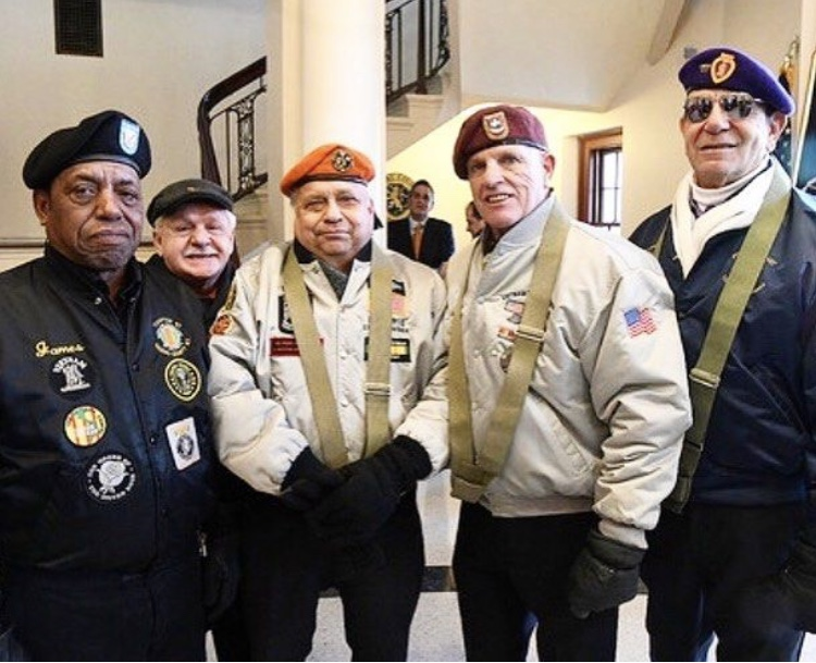 Nassau County Color Guard! Great team of Veterans!