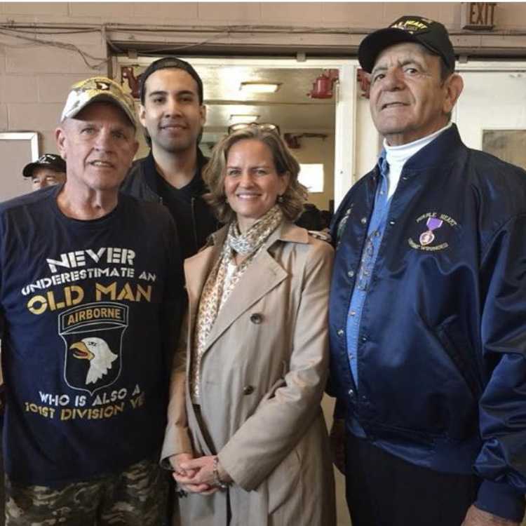 Volunteering at the Nassau County Veterans Stand Down